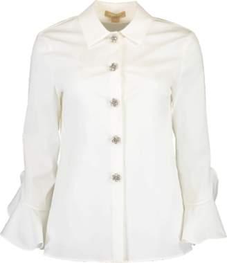 Michael Kors Jeweled Button Down Shirt