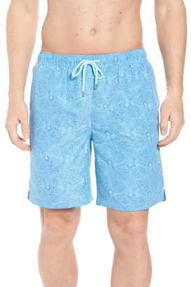 Peter Millar Summer Paisley Swim Trunks