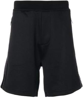 DSQUARED2 sequin detail track shorts