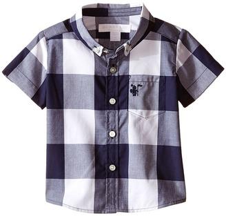 Burberry Kids - Lightweight Plain Oxford Shirt Boy's Clothing $95 thestylecure.com