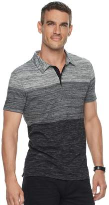 Marc Anthony Men's Slim-Fit Gradient Striped Polo