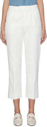 Equipment 'Bergen' cropped straight leg suiting pants