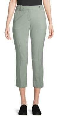 Theory Stretch Wool Cropped Pants