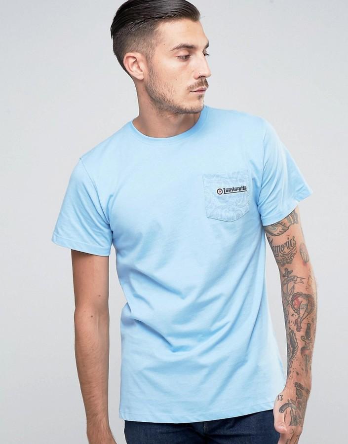 Lambretta Paisley Pocket T-Shirt