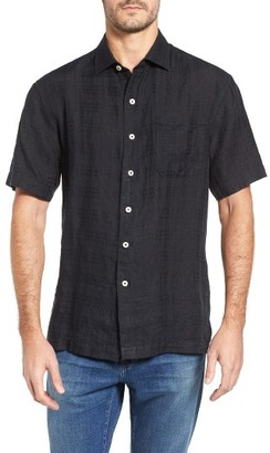 Men's Big & Tall Tommy Bahama The Big Bossa Linen Sport Shirt $120 thestylecure.com