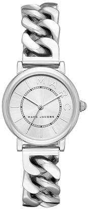 Marc Jacobs Classic Chain Link Bracelet Watch, 28mm