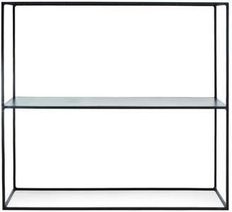 DAY Birger et Mikkelsen Flatiron-Wrought Cube Console with Shelf