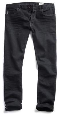 Todd Snyder Japanese Stretch Selvedge Jean in Black Rinse