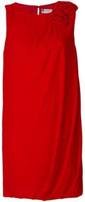Lanvin flower appliqué dress