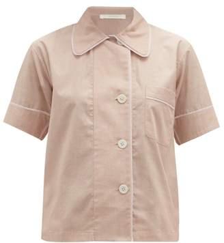 Araks Shelby Cotton Pyjama Shirt - Womens - Nude