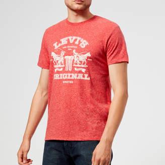 Levi's Men's 2 Horse Graphic T-Shirt
