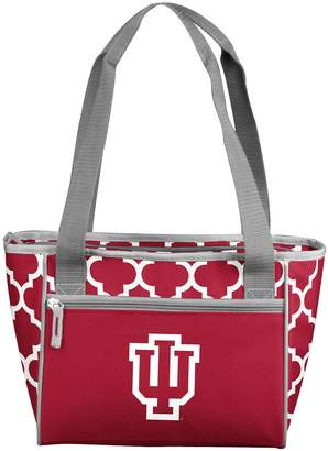 Logo Brand Indiana Hoosiers Quatrefoil 16-Can Cooler Tote