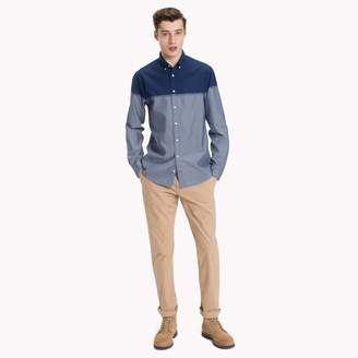 Tommy Hilfiger Two-Tone Regular Fit Shirt