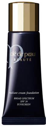 Clé de Peau Beauté Radiant Cream Foundation SPF 24, 0.7 oz.