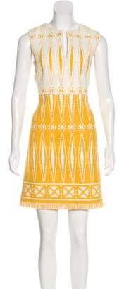 Tory Burch Jacquard A-Line Dress