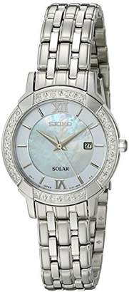 Seiko Women's 'Sport Watches' Quartz Stainless Steel Dress Watch (Model: SUT277)