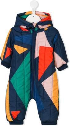 Bobo Choses geometric-print padded overall