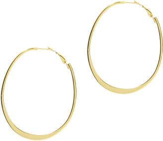 Argentovivo Wavy Gold Hoops