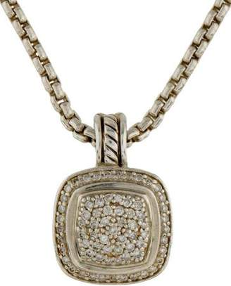 David Yurman Diamond Albion Pendant Necklace
