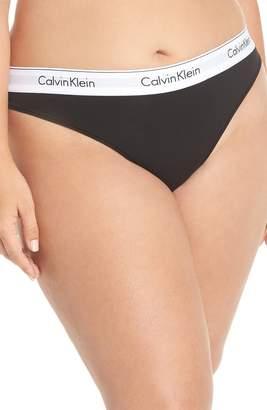 Calvin Klein Modern Cotton-Blend Thong