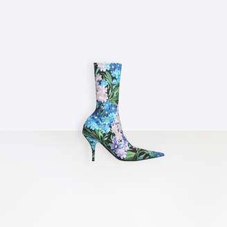 Balenciaga Extreme pointed toe spandex booties