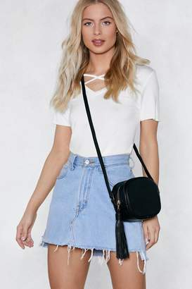 Nasty Gal WANT Add Some Extra Tassel Crossbody Bag