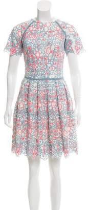 Manoush Crocheted Mini Dress
