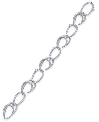 Macy's Danori Crystal & Pavé Link Bracelet, Created for