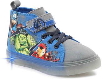 Marvel Avengers Toddler & Youth Light-Up High-Top Sneaker - Boy's