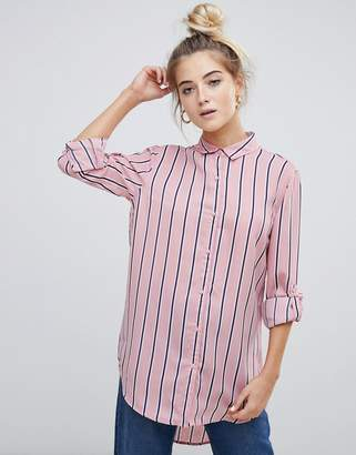 Paige Willow And Willow & boyfriend shirt in stripe