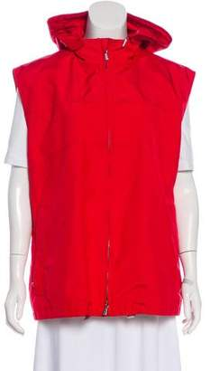 Loro Piana Hooded Zip-Up Vest