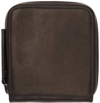 Ann Demeulemeester Black Jacky Wallet