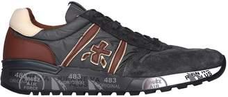 Premiata Lander 3243 Brown And Grey Sneakers