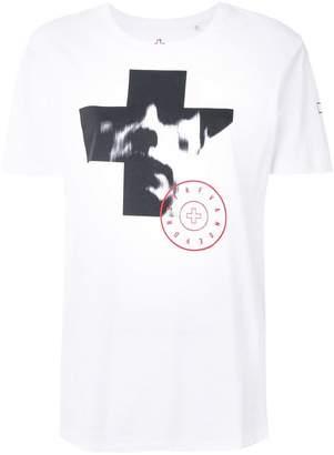A.F.Vandevorst cross print T-shirt