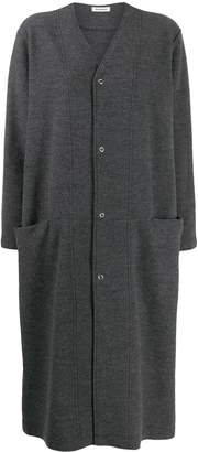 Plantation two tone oversized coat
