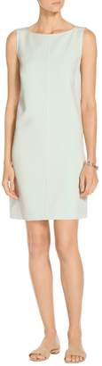 St. John Bella Double Weave A-Line Dress