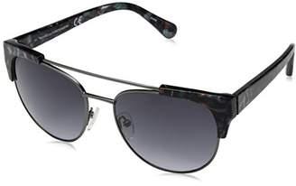 Diane von Furstenberg Women's Carine Oval Sunglasses
