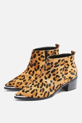 Topshop MILES Low Ankle Platform Boots