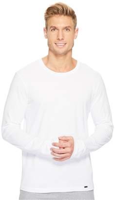 Hanro Living Long Sleeve Crew Neck Shirt Men's T Shirt