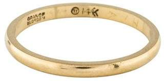 Ring 14K Narrow Band