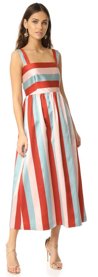 RED ValentinoRED Valentino Striped Dress