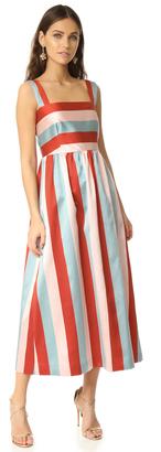 RED Valentino Striped Dress $795 thestylecure.com