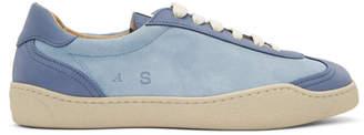 Acne Studios Blue Nubuck Lars Sneakers