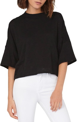 Habitual Elbow Sleeve Top