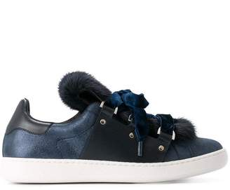 Moncler fur trainers