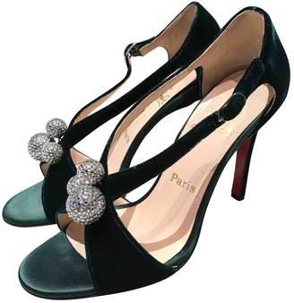 Christian Louboutin Velvet sandals