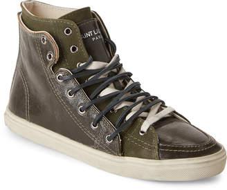 Saint Laurent Rivington Double High-Top Sneakers