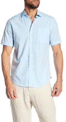 Good Man Brand Point Collar Trim Fit Woven Shirt