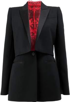 Alexander McQueen tailored tuxedo blazer