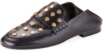 Isabel Marant Feenie Studded Flat Fold-Down Loafer